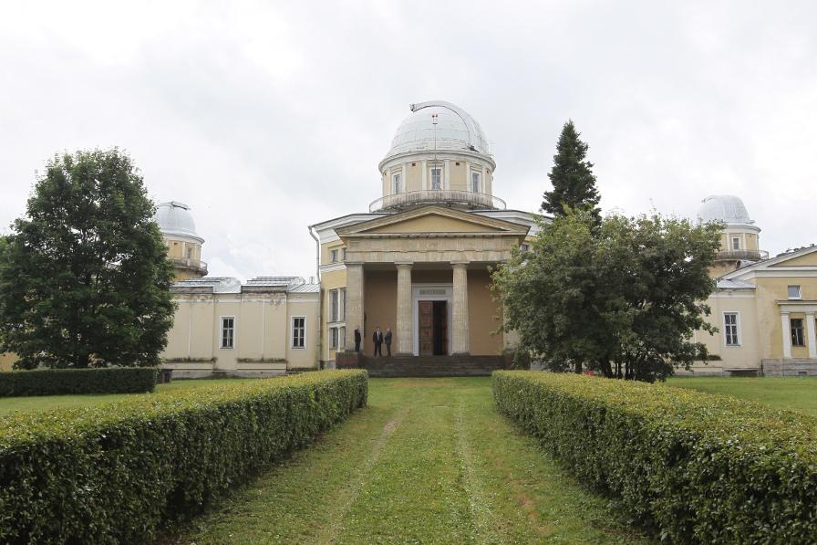фото ЗакС политика Депутаты ЗакСа поздравили Пулковскую обсерваторию со 180-летием