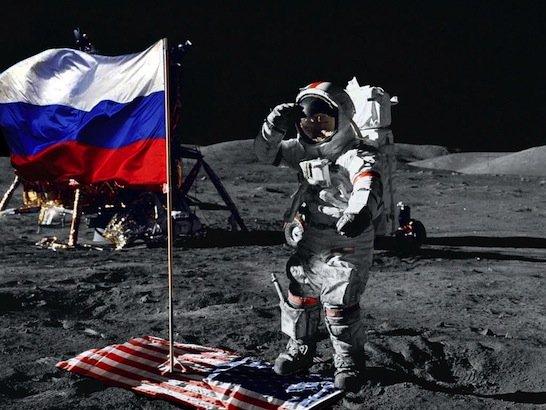 фото ЗакС политика Медведев: Россия и Китай намерены исследовать поверхность Луны