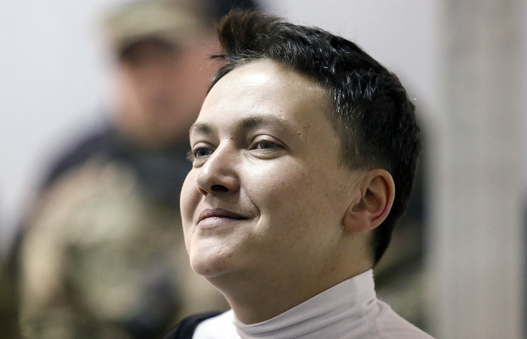 фото ЗакС политика Надежда Савченко вышла на свободу