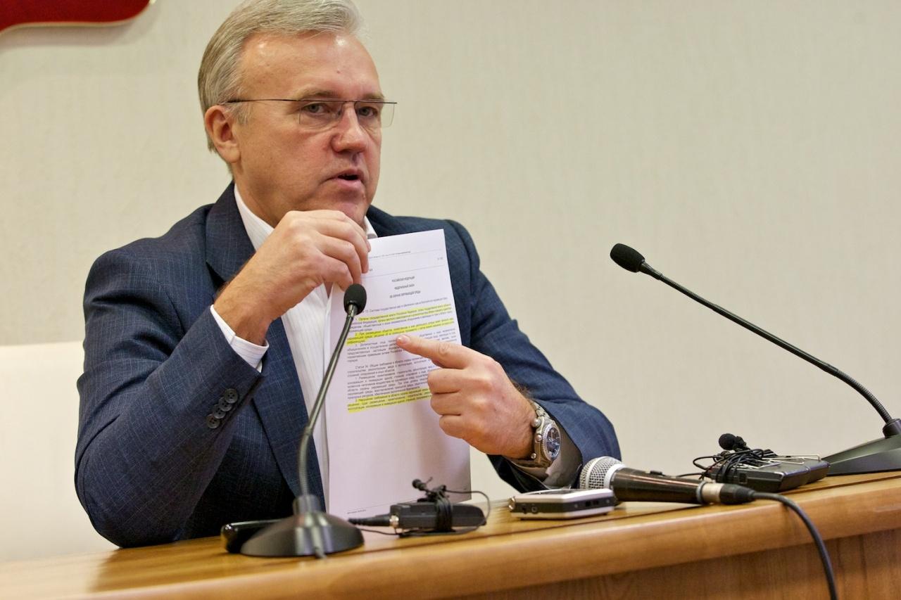 фото ЗакС политика Комментируя отчет о миллиардных хищениях леса, глава Красноярского края вспомнил Гитлера