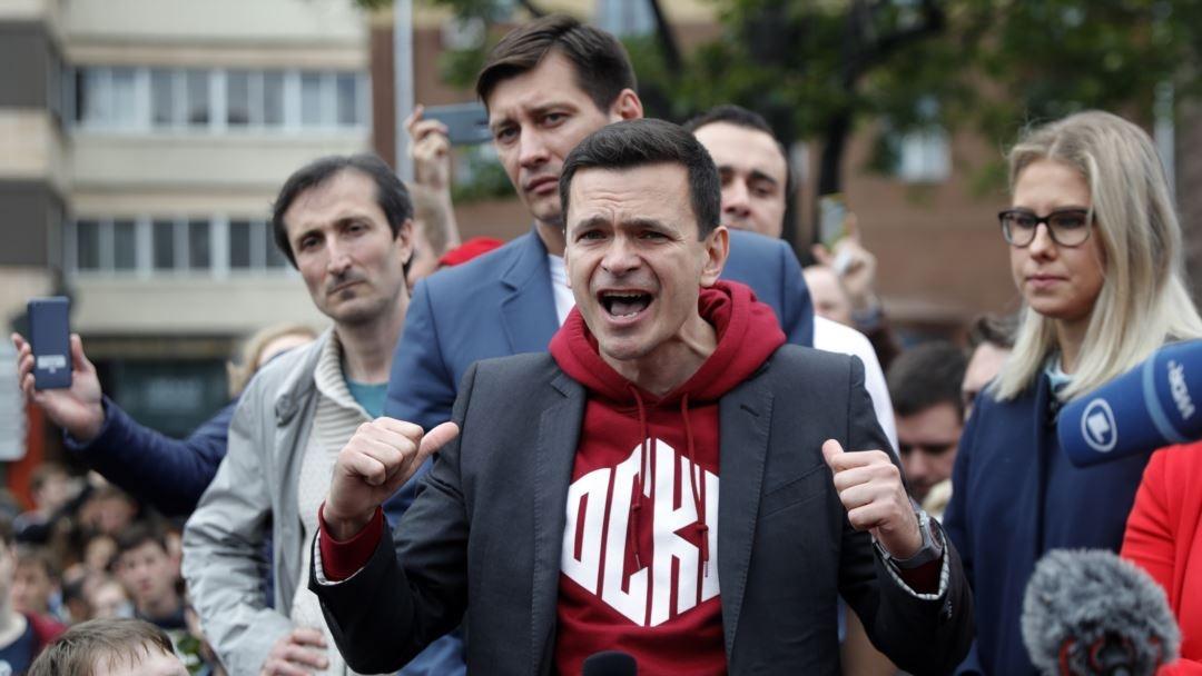 """фото ЗакС политика """"Забракованные"""" кандидаты в Мосгордуму собираются всю неделю пикетировать у мэрии"""