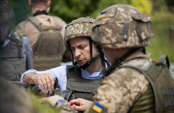 """фото ЗакС политика """"Верните детей родителям"""": Зеленский призвал Путина освободить украинских моряков"""