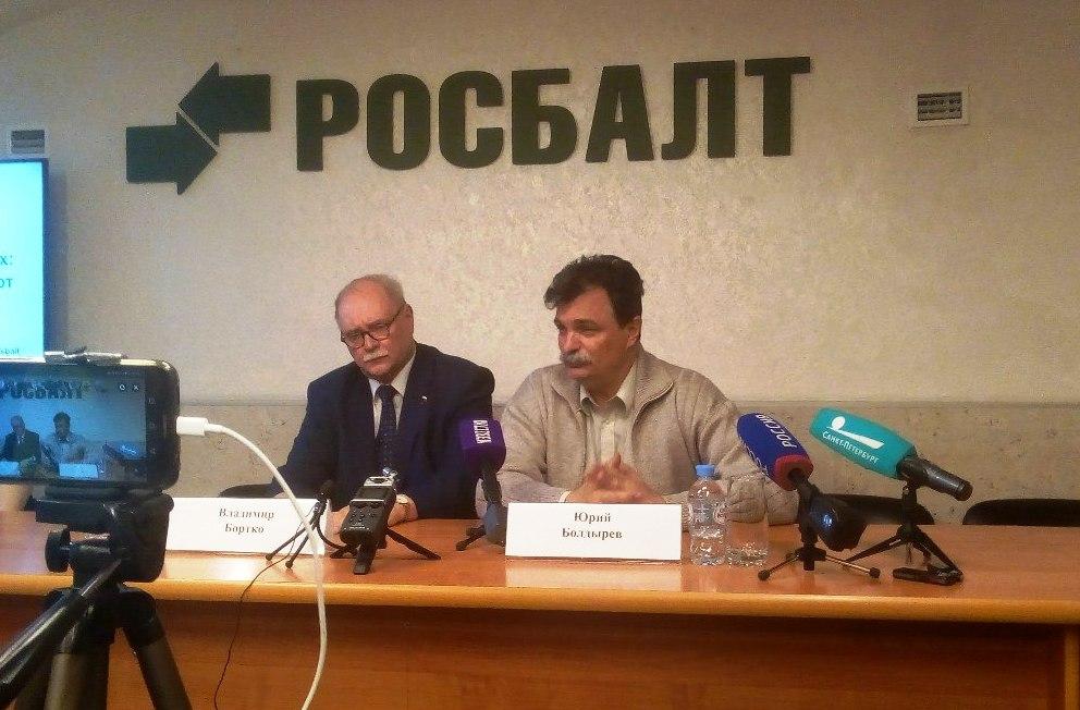 фото ЗакС политика Болдырев поддержит Бортко на выборах губернатора Петербурга