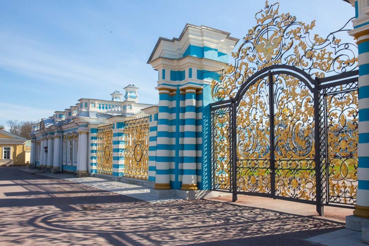 фото ЗакС политика В Царском Селе отреставрировали Золотые ворота