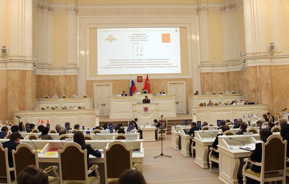 ЗакС Петербурга готов потратить 8,4 млн рублей на конгресс-систему