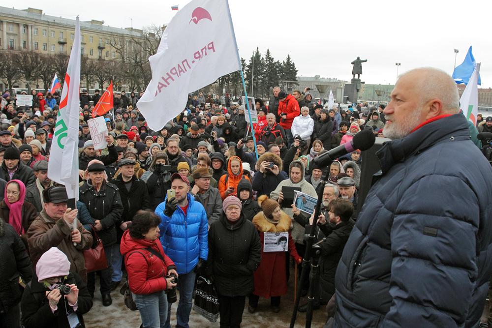 фото ЗакС политика Амосов готов принять на работу Головко, если станет губернатором