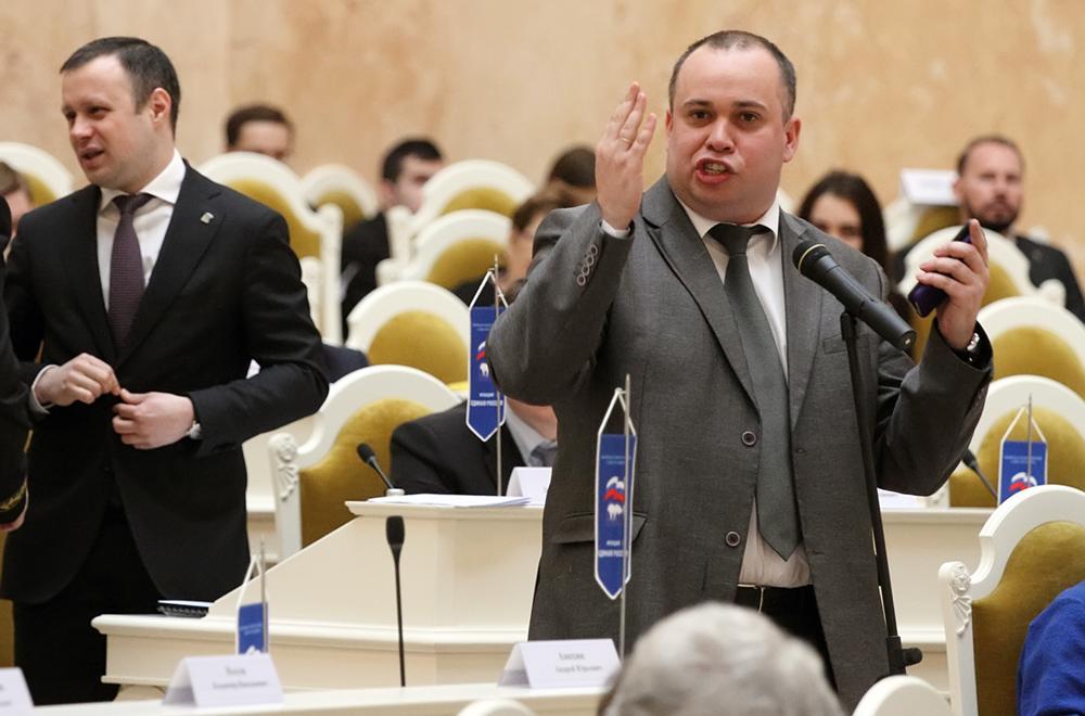 фото ЗакС политика Чебыкин ждет ответа от Беглова по вопросу парка на Смоленке