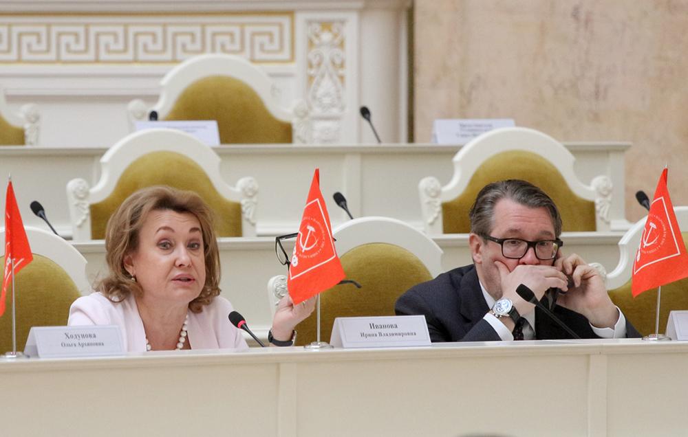 фото ЗакС политика Глава комитета по промышленной политике Петербурга пообещал защищать городскую промышленность