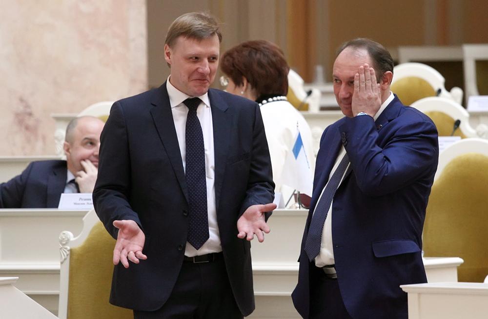 фото ЗакС политика Жириновский попросил Капитанова не комментировать отказ от работы в Смольном