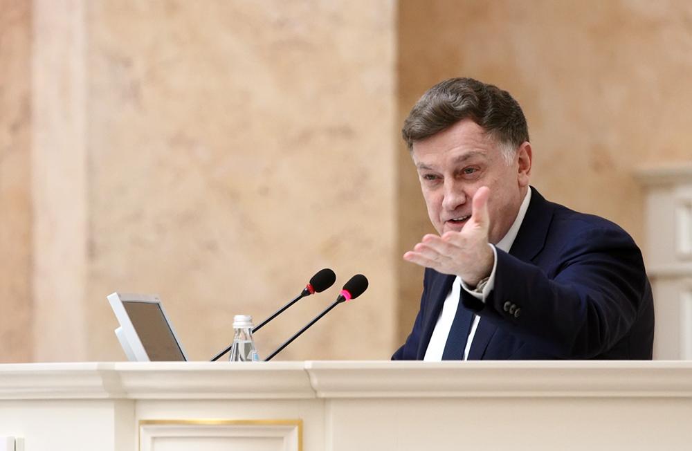 фото ЗакС политика Макаров вернулся в тройку самых цитируемых в СМИ глав законодательных собраний