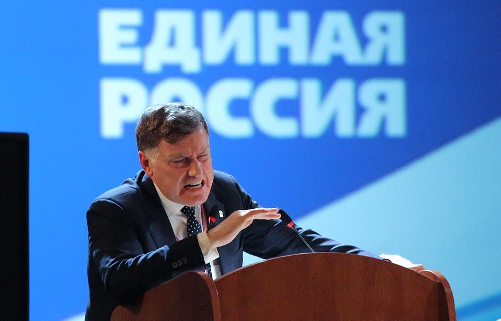 Макаров потерял первую позицию в медиарейтинге глав Заксобраний