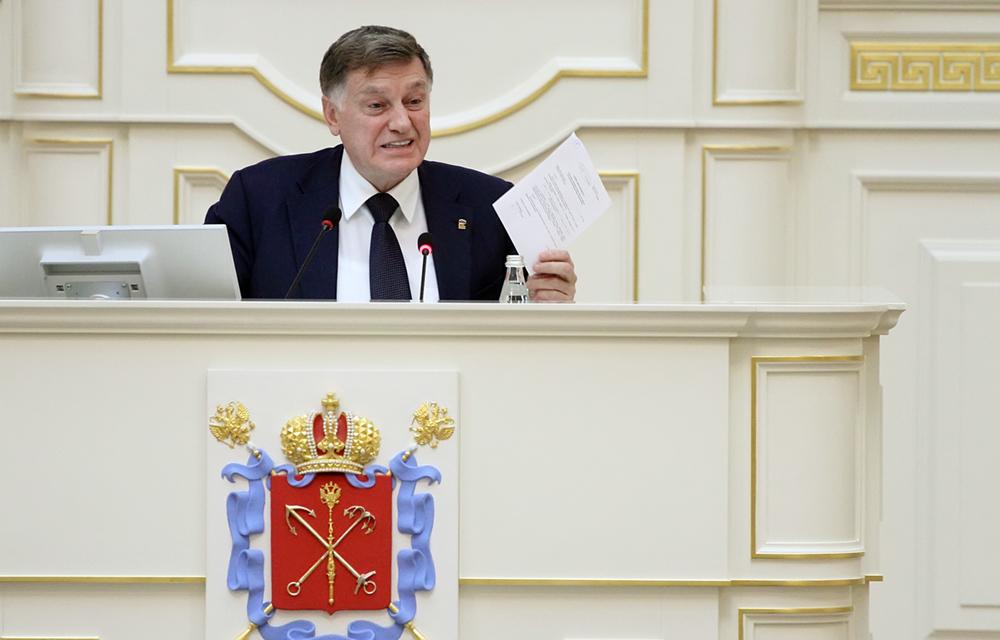 фото ЗакС политика Макарову подарили икону на юбилей ЗакСа