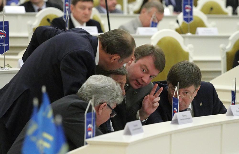фото ЗакС политика Единороссы собираются в 50 раз увеличить избирательный фонд на предстоящих мунвыборах