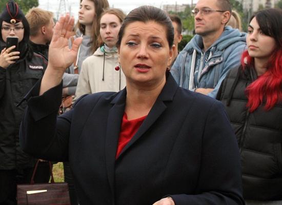фото ЗакС политика Тихонова готова взять Вишневского в правительство в случае своего избрания