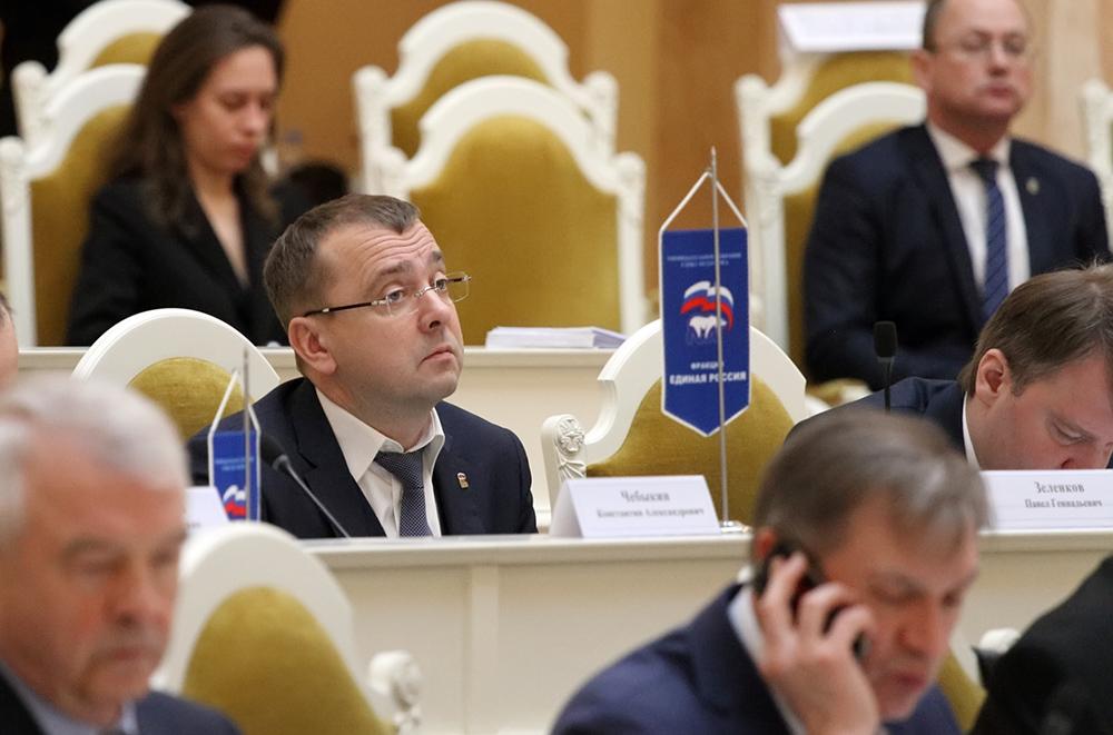 фото ЗакС политика В Мариинском дворце провели гражданскую панихиду по Павлу Зеленкову
