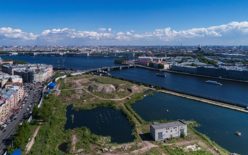 """фото ЗакС политика Беглов не видит оснований отменять разрешение на строительство судебного квартала на """"набережной Европы"""""""
