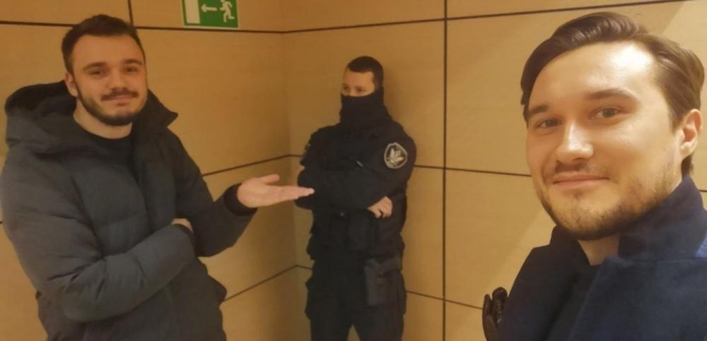 фото ЗакС политика В московский офис ФБК пришли силовики