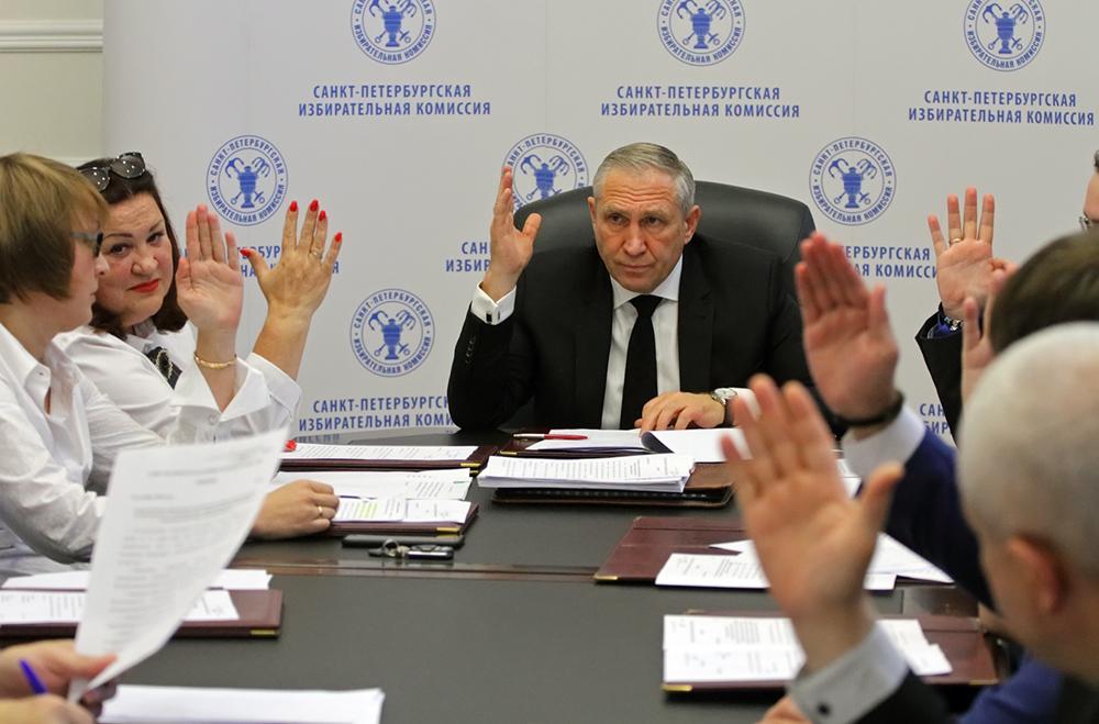 """фото ЗакС политика ГИК не удовлетворил жалобы выдвиженцев на ИКМО """"Гагаринское"""""""