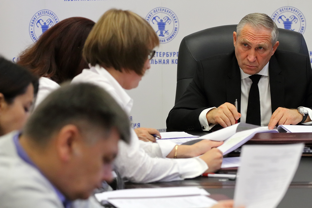 """фото ЗакС политика ГИК утвердил нового главу ИКМО """"Адмиралтейский округ"""""""
