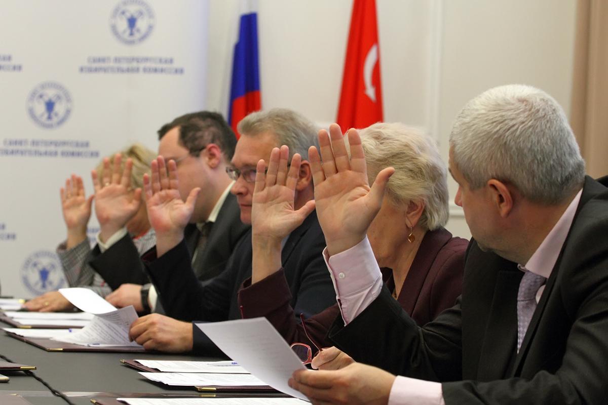 фото ЗакС политика Рабочая группа ГИК рассмотрела отказы в регистрации кандидатов в Петроградском районе