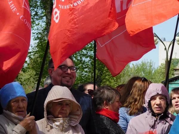 фото ЗакС политика В Москве прошел митинг в поддержку Павла Грудинина