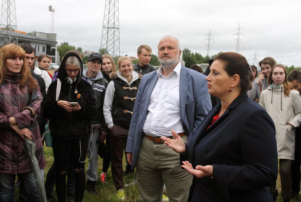 Соперники по выборам отправили Беглову письмо в защиту Муринского парка