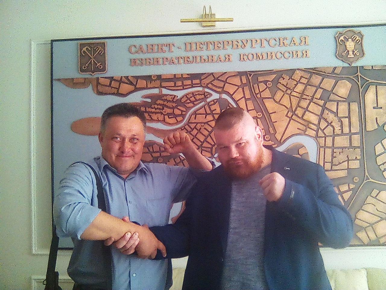 фото ЗакС политика Дацик объединит усилия с потенциальным кандидатом в губернаторы Петербурга Перовым