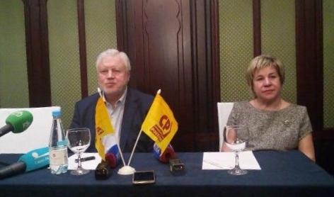Миронов назвал претендентов на выдвижение в губернаторы от СР
