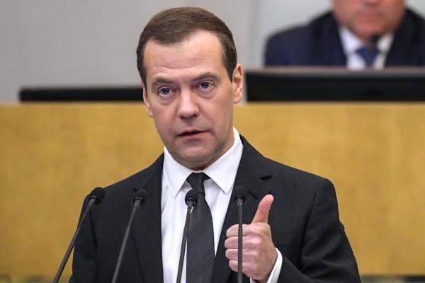 фото ЗакС политика Медведев пообещал не повышать налоги в России в ближайшие шесть лет
