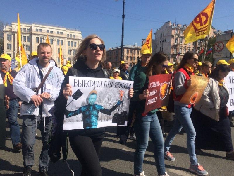 фото ЗакС политика На Невском проспекте задержали главу штаба Навального и журналистов