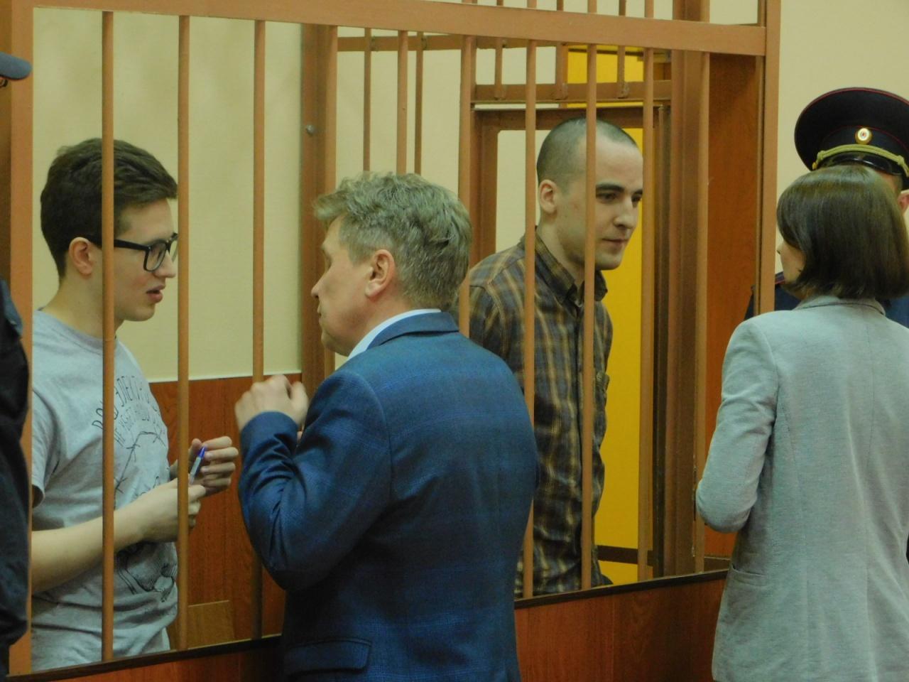 фото ЗакС политика Петербургским фигурантам дела «Сети»* продлили арест до 11 сентября