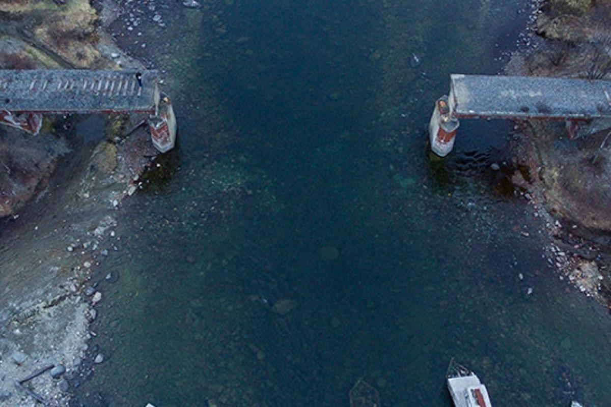 фото ЗакС политика В Мурманской области украли железнодорожный мост
