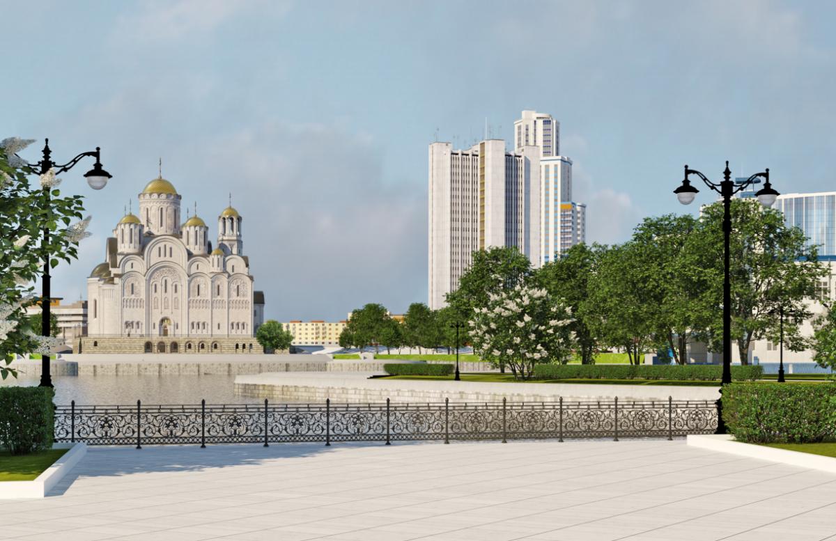 фото ЗакС политика Новое место для строительства храма в Екатеринбурге выберут в сентябре