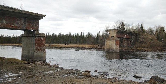 фото ЗакС политика После кражи 56-тонного моста в Мурманской области возбудили уголовное дело