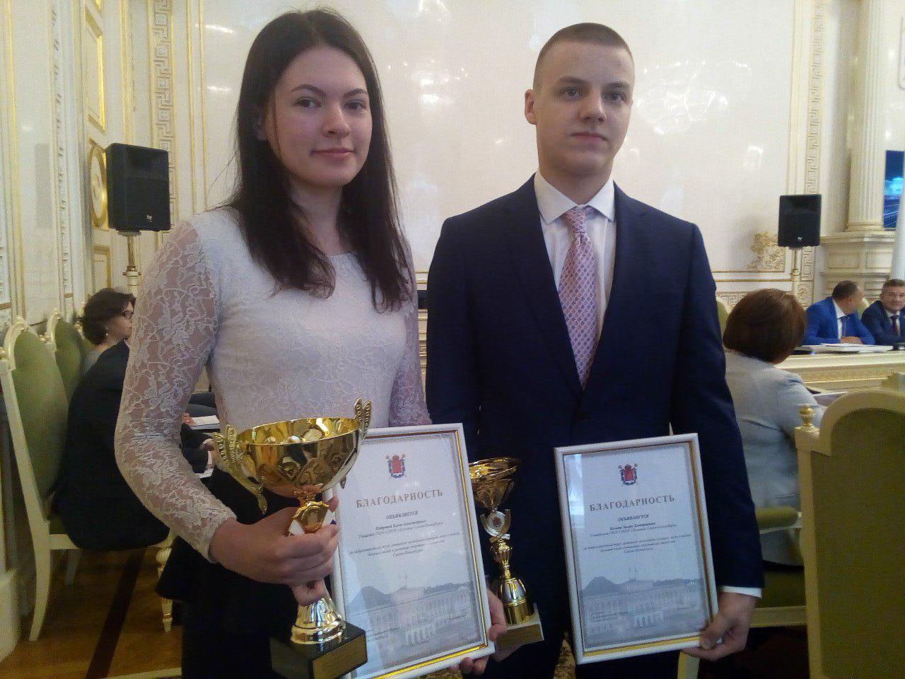 фото ЗакС политика В Заксобрании наградили петербургских фехтовальщиков