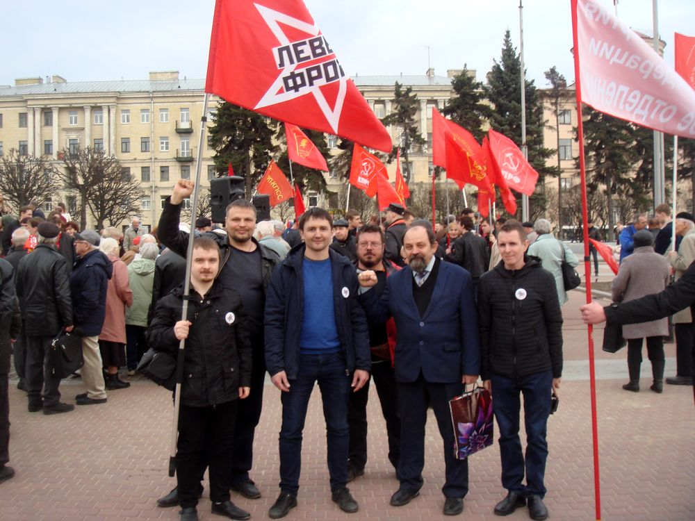 """фото ЗакС политика Активисты """"Левого фронта"""" планируют пикеты в поддержку Пивоварова и Шуршева"""