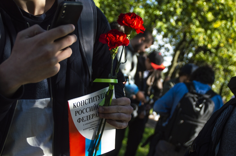 """фото ЗакС политика Муниципалы из """"Объединенных демократов"""" выступили против поправок в Конституцию"""