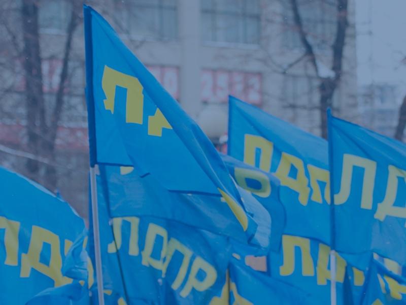 фото ЗакС политика ЛДПР в Петербурге анонсировала митинг против принятия закона о домашнем насилии