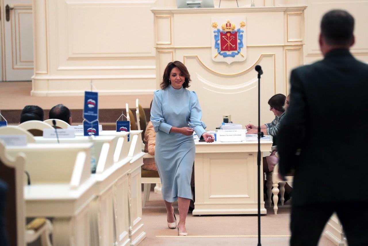 фото ЗакС политика Рабочая группа ГИК хочет вернуть Грязневич в избирательную гонку по «Дворцовому округу»