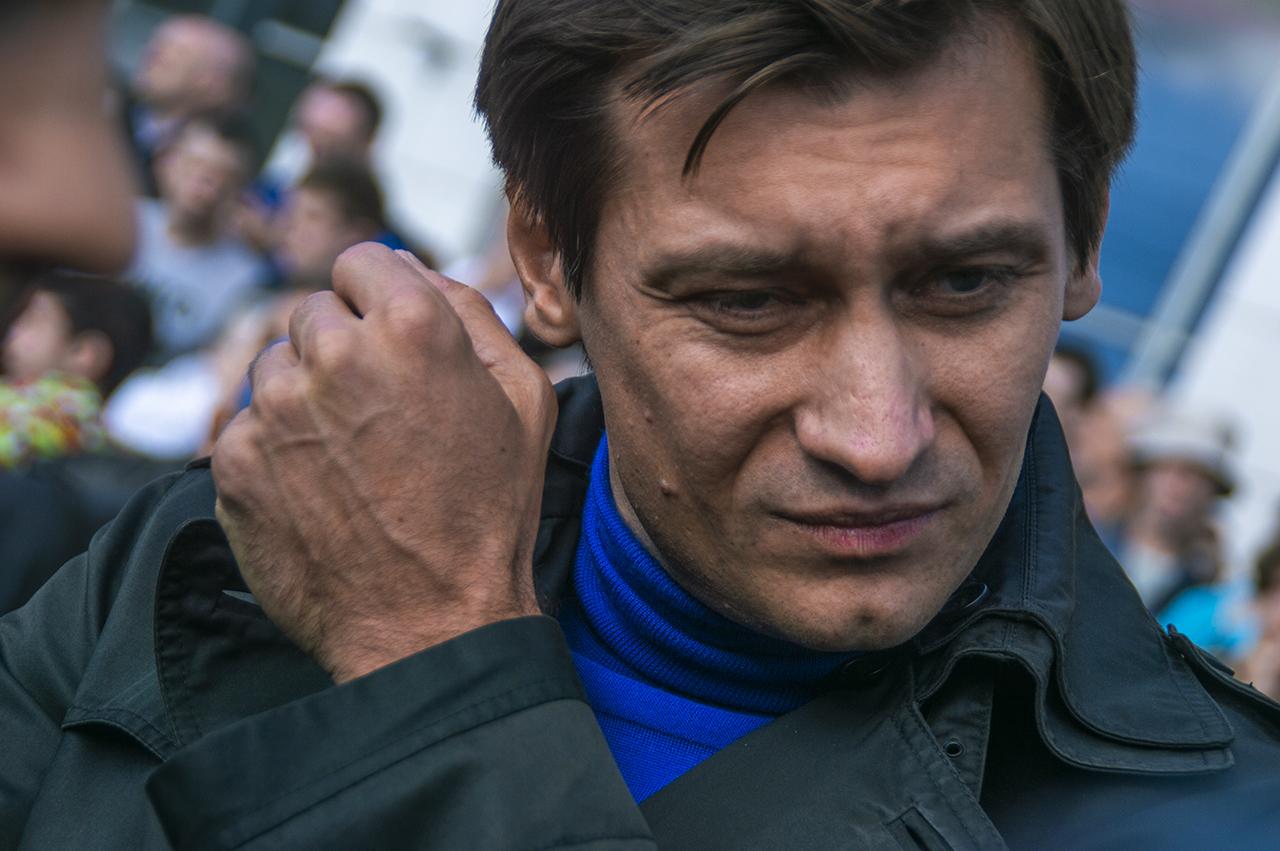 фото ЗакС политика Гудков о разгоне московского шествия: Отступили на шаг - оттолкнут на десять
