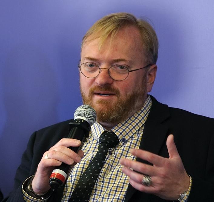 фото ЗакС политика Милонов против долгого подсчета голосов на муниципальных выборах