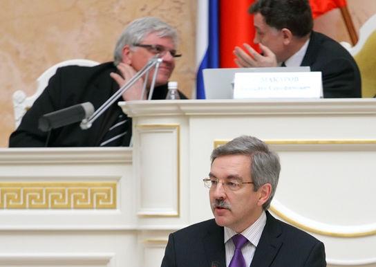 фото ЗакС политика Шишлов сожалеет, что для передачи муниципальных мандатов потребовалась Памфилова