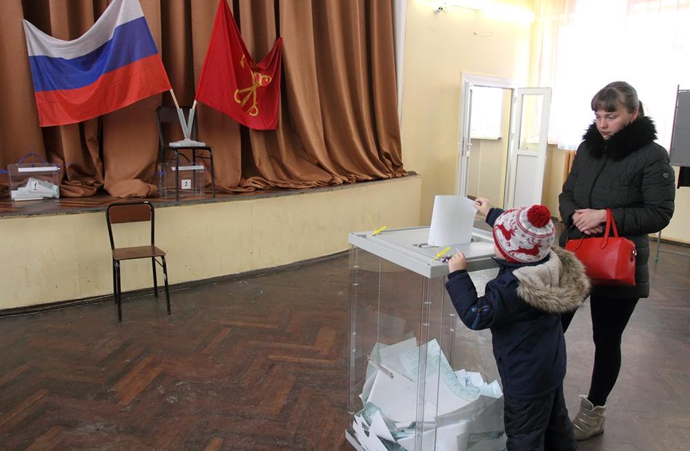 фото ЗакС политика Для 808 избирателей в Тярлево изготовят 800 бюллетеней