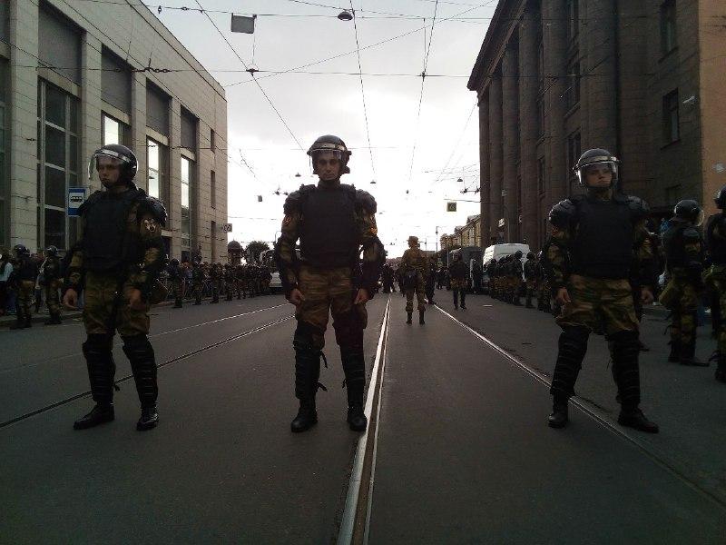 """В столичной полиции зарегистрирована жалоба на избиение подростка на """"марше Голунова"""""""