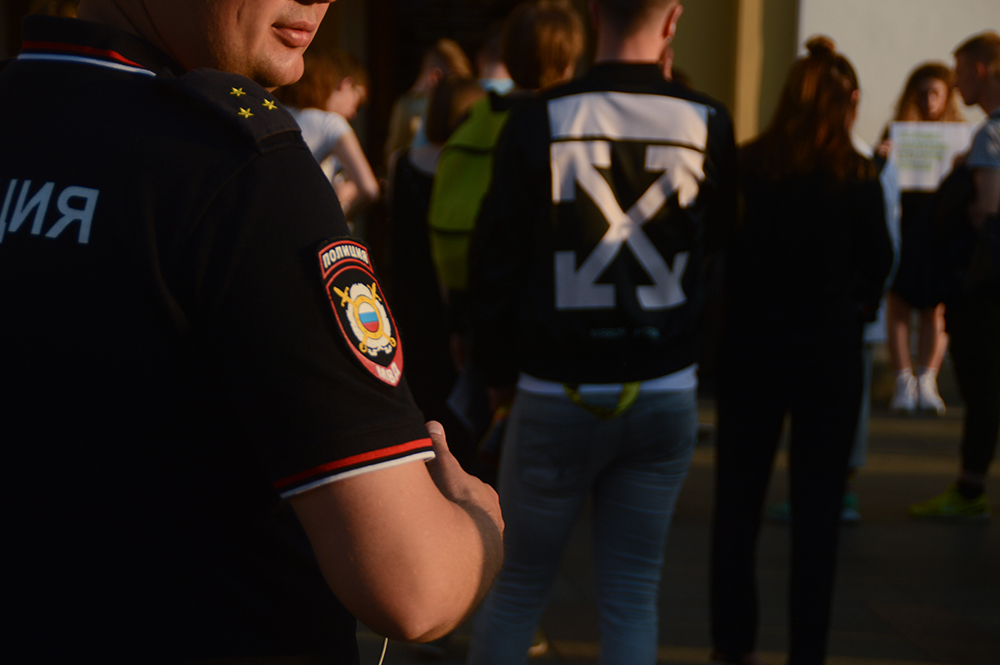 фото ЗакС политика Независимых кандидатов на выборах в Мосгордуму поддерживают пикетами у Горизбиркома