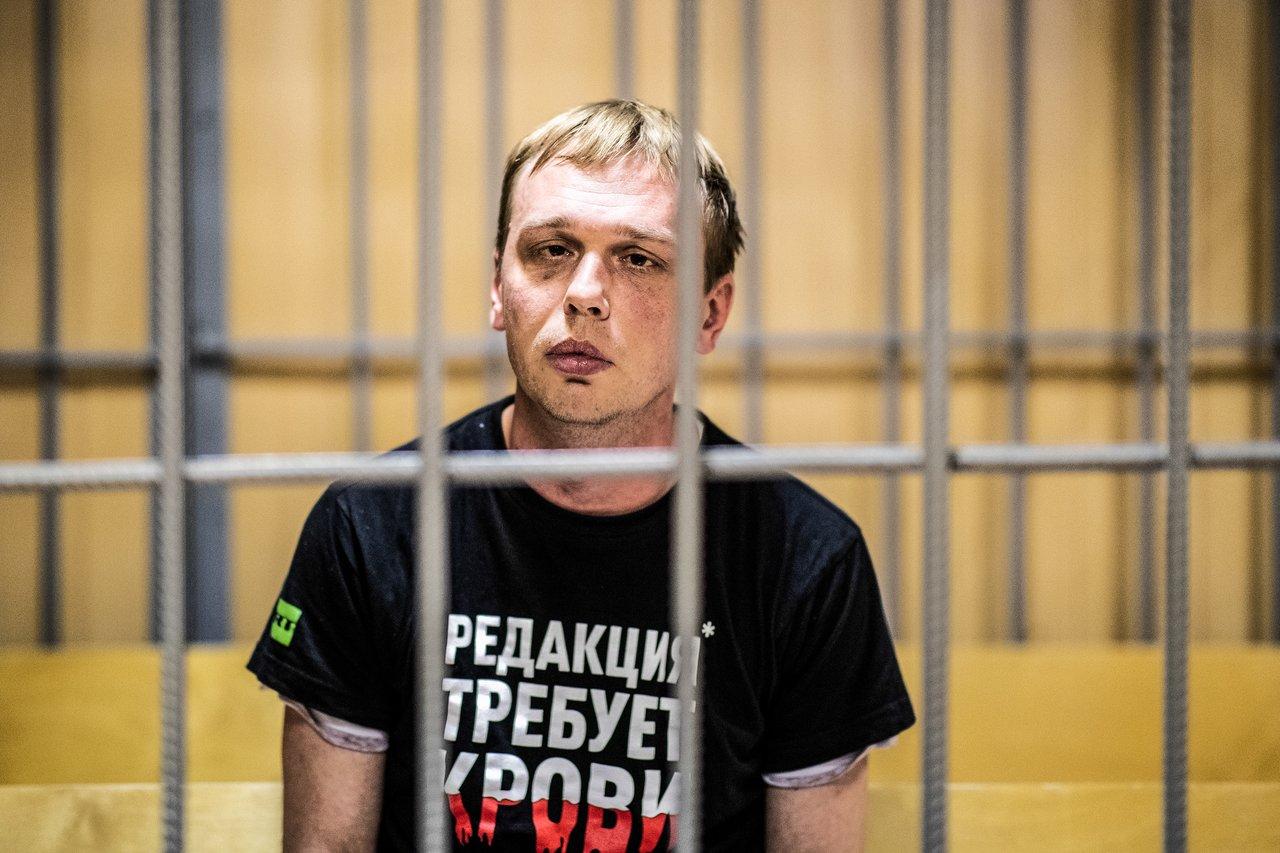 По делу Голунова обыскали управление московской полиции