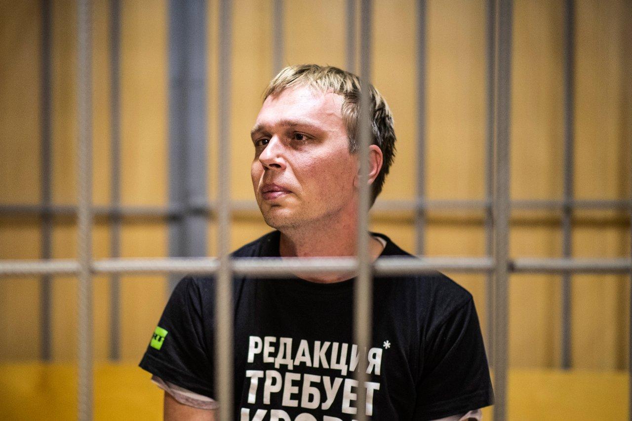 Адвокат Голунова известил об уничтожении записи задержания журналиста