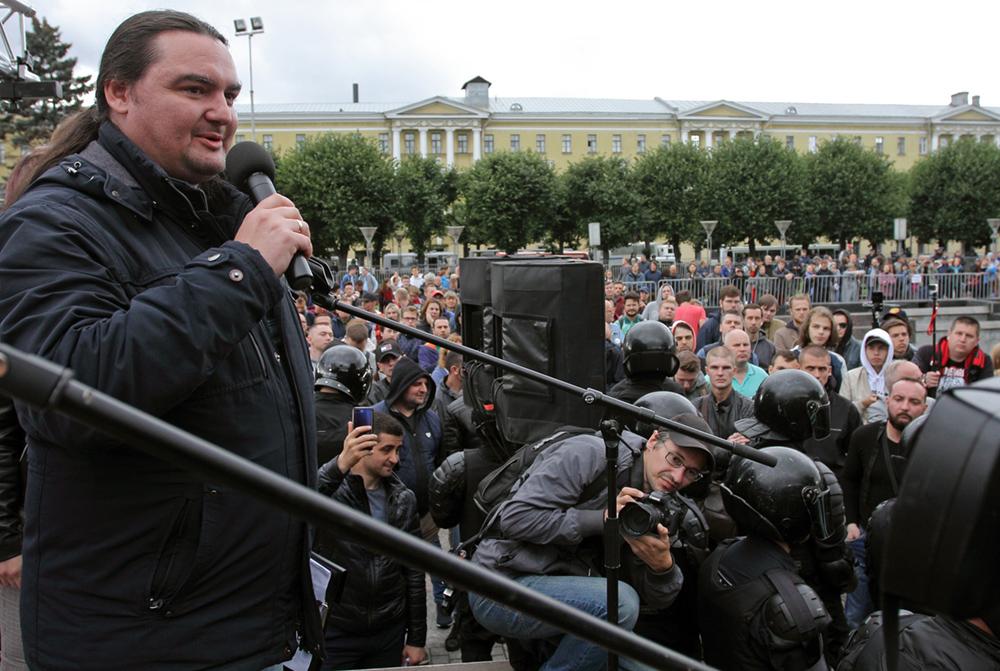 фото ЗакС политика Организаторы митинга «Против произвола на выборах в Петербурге» заявили о его отмене