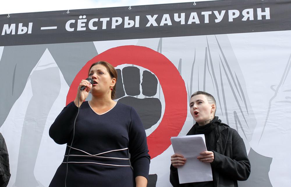 СК не стал менять обвинение сестрам Хачатурян на необходимую самооборону