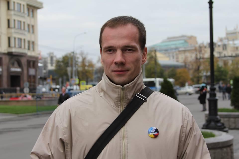 фото ЗакС политика Дадина отпустили после задержания у колонии в Смоленской области